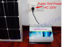 1000w New Micro Grid Tie Inverter For Solar Home System MPPT Function DC 12V AC 220V Pure Sine Wave Inverter(China)