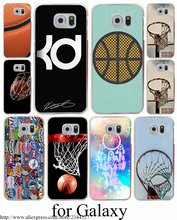 Basketball Logo La Hard Transparent Case Cover for Samsung Galaxy S3 S4 S5 Mini S6 S7 S8 Edge Plus Case