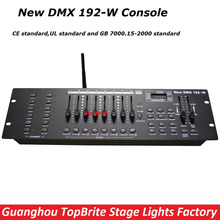 2017 Big Discount High Quality 2.4G Wireless DMX Controller New DMX 192-W Console For Stage Dj Disco Laser Lights Free Shipping