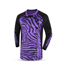 Sporting 2017 goalkeeper jersey long sleeve custom thai quality men's goalkeeper shirts sponge jerseys football training jersey