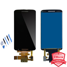 "Original 5.5"" LCD For Motorola MOTO X Play X3 XT1562 LCD Display Touch Screen Digitizer Assembly black white + tools"