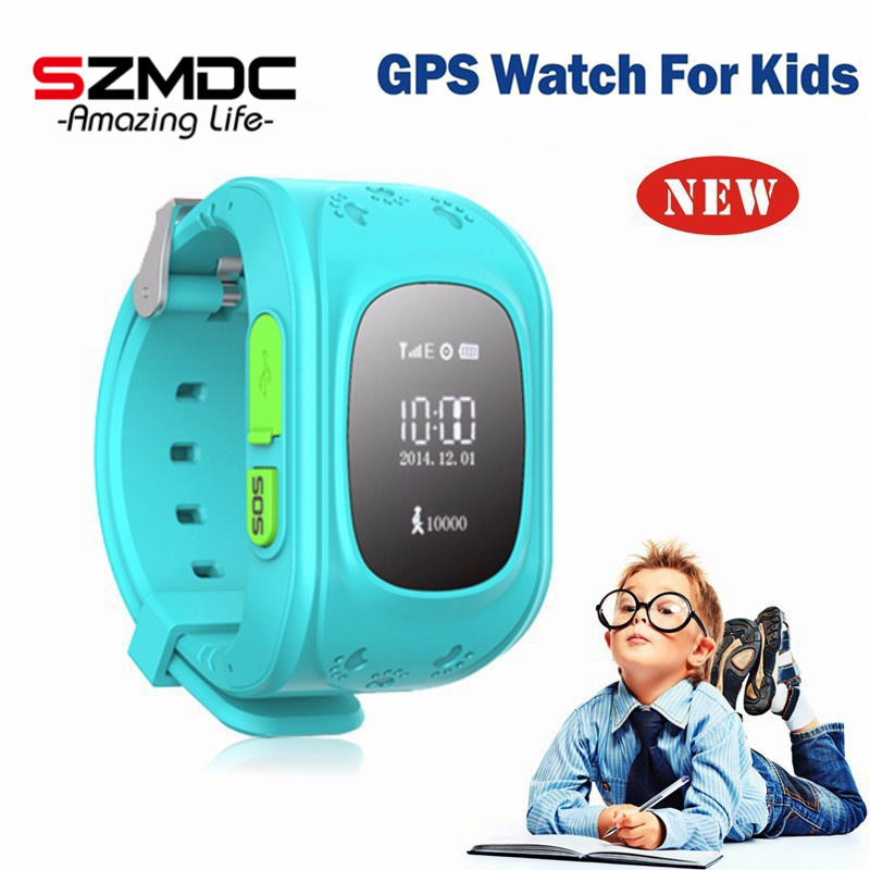 HQ Anti Lost GPS Tracker Watch For Kids SOS Emergency GSM Smart Mobile Phone App For IOS & Android Smartwatch Wristband Alarm(China (Mainland))