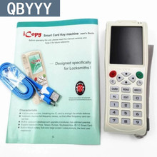 Buy QBYYY Arrival English version iCopy 3 Full decode function Smart Card Key Machine RFID NFC Copier IC/ID Reader/Writer Duplicator for $158.00 in AliExpress store