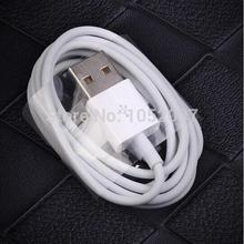 1pcs 30 Pin to USB Charger Cable Line Charging Data Sync Cord Wire For Apple Old iPhone 4 4S 3GS New ipad 2 3 Touch 4 Nano 6