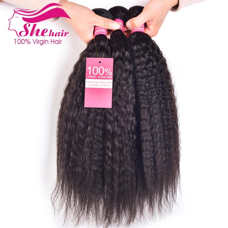 8A Peruvian Virgin Hair kinky Straight 3pcs Unprocessed Peruvian kinky straight hair weave Peruvian Hair Remy Human Hair Weave<br><br>Aliexpress