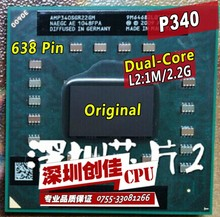 Laptop cpu processor AMD Athlon II Dual-Core P340 P 340 Mobile (1M Cache 2.2 GHz) AMP340SGR22GM Socket S1/S1g4 cpu
