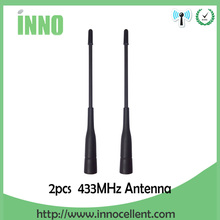 2pcs lot 433MHz antenna high-power communications antenna wireless data transmission Meter reading communication system