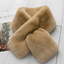 ZDFURS * Fur Scarf 2017 Autumn And Winter Real fur Scarves Natural rex Rabbit Scarf Thick Warm Winter Fashion Brand New Arrival(China)