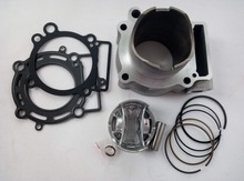 77MM 249CM3 ZONGSHEN RX3 NC250 ZS250GY-3 T6 Motorcycle Cylinder Kits With Piston And 16MM Pin