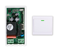 AC 220V 1 CH RF Wireless Remote Control Switch 1 receiver+ 1  transmitter  Simple connection  household appliances/lamp