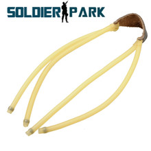 Outdoor Shooting Hunting Powerful 4 Strips Slingshot Rubber Band Catapult High-elastic Natural Latex Tube Caza Fitness Equipment