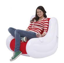 95CM X 65CM X 86CM cozy air inflatable sofa, circular couple creative color sofa backrest Armchair with pocket and music