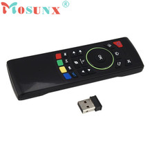 2.4G Wireless Remote Control Keyboard Air Mouse For XBMC Android TV Box 2.4G Wireless Presenter NOV25(China)