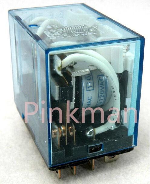 5pcs 220V 110V  24V MINI Intermediate Relay Coil Power Relay LY4N-J 10A<br>