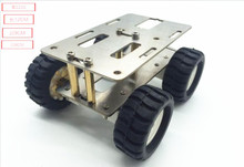 4WD robot smart car chassis kit auto in metal form AP the OPI at him and Arduino robotic A raspberry pi