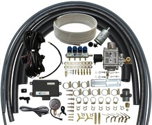 Methane CNG Multipoint Sequential Injection System Conversion Kits for 3 or 4 cylinder petrol fuel injected Cars