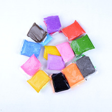 20g/pack Handmade DIY Soft Polymer Foam Modelling Clay Set Snow Pearl Mud Playdough Educational Plasticine Toys 24 Colors