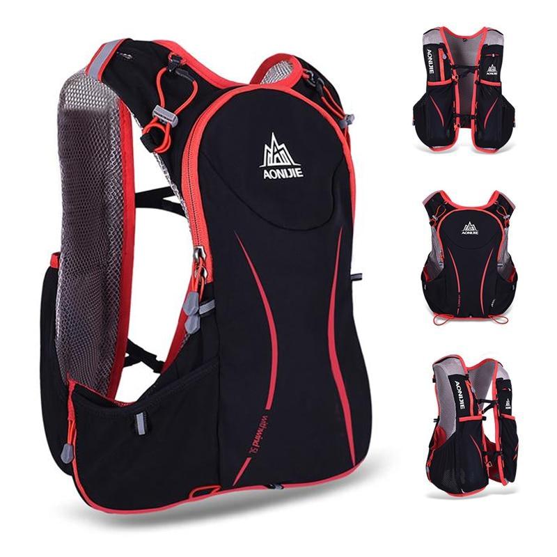 AONIJIE 5L Outdoor Running Bag Marathon Hydration Backpack Lightweight Hiking Vest Bag + 1.5L Hydration Water Bag for Men Women<br><br>Aliexpress
