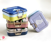 New double level storage tin box