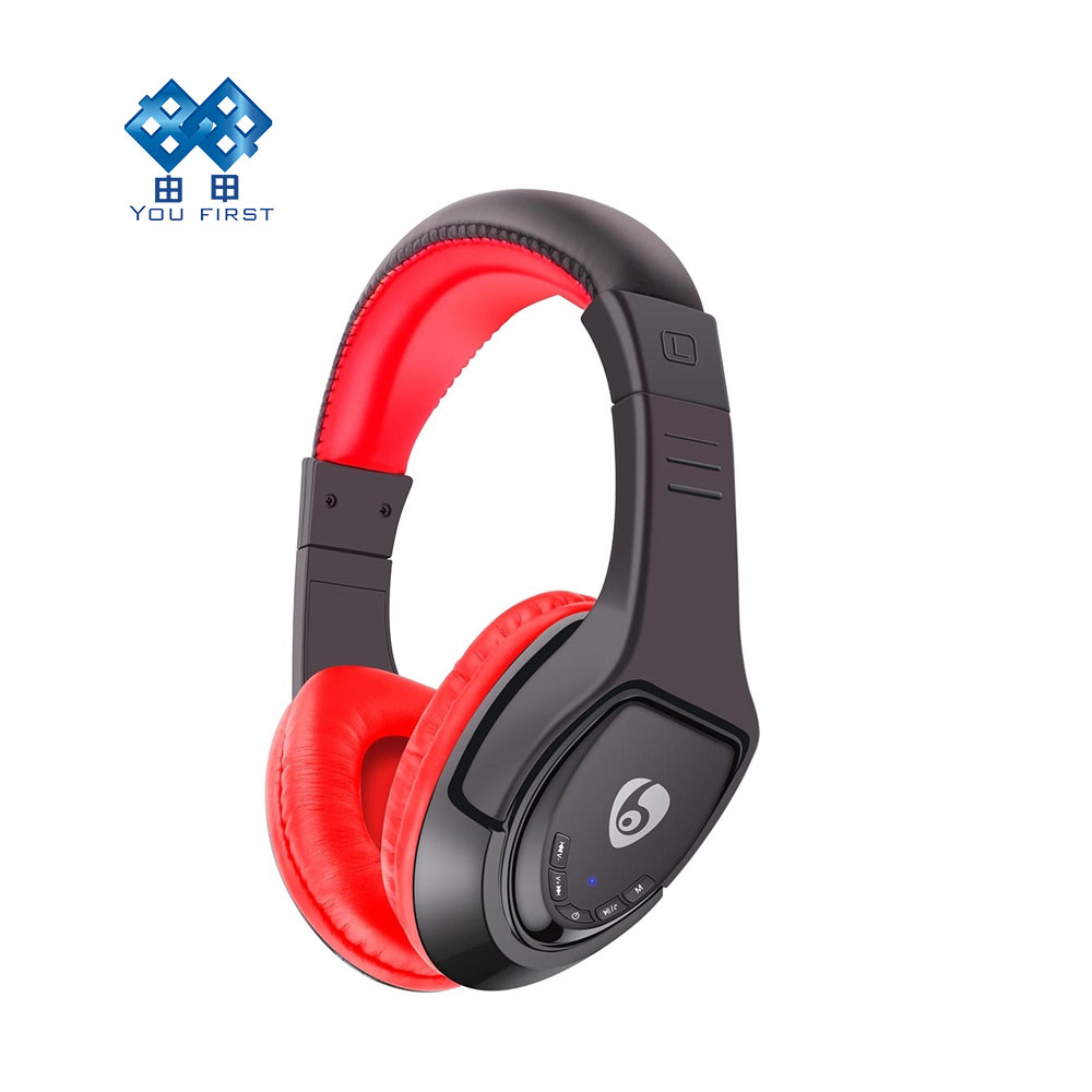 YOU FIRST Wireless 4.1Bluetooth Headphone MX333 Foldable Stereo Noise Headset Headband Music Player With Mic for iPhone iPad <br>