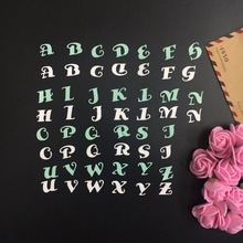 New DIY Lovely 26pcs letter Design shape scrapbooking steel cutting die sweet wedding Book photo album art card cake Dies Cut