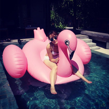 Super Quality Inflatable Flamingo Giant Pool Float Unicorn Swan Summer Swimming Ring Flamingo Pool Float Toys for Adults