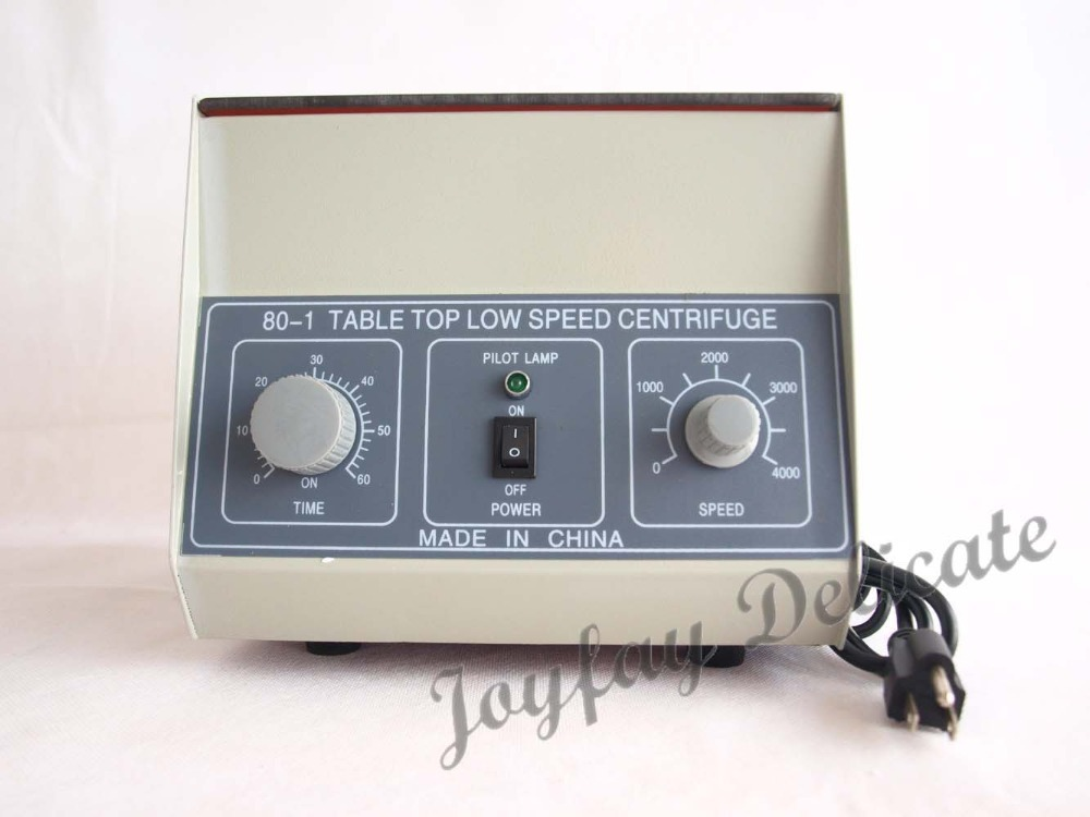 80-1 Lab Centrifuge Laboratory Supplies Medical Practice 4000 rpm 20 ml x 6 1795xg<br><br>Aliexpress