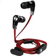 2017 Langsdom JM02 Black/White/Red 3.5MM Stereo Jack phones and Headphones with Microphone