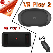 In Stock Xiaomi VR Original Mi Box Virtual Reality Xiaomi VR Play 1 3D Immersive Headset Cardboard for 4.7- 5.7 inch Phone