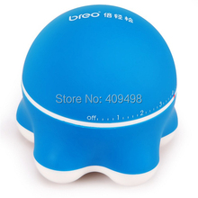 Breo mini329 blue black pink AAA battery powered mini head neck shoulder back hand leg body massager