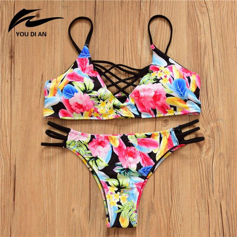 17 Bikinis Swimwear Women New Summer Sexy Swimsuit Bath Suit Bikini Striped Biquini Bikini Set Beach Bathing Suit 6