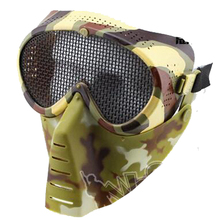 Full face Metal Mesh Protective goggle Mask Airsoft Paintball Resistant MA13735