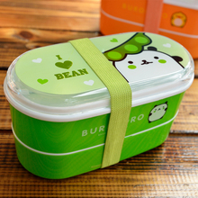 6 Colors Cartoon Portable Lunch Box Microwave Oven Bento Boxes Lunch Storage Container Child Kids Lunchbox Eco-Friendly BPA Free