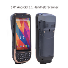 Portable PDA Handheld Terminal with printer 2D Laser Barcode Android Fingerprint Scanner Reader Rugged IP65 Waterproof Phone(China)