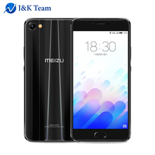 "MEIZU M3X 2.5D Double Side Glass 4G LTE Smart Phone Helio P20 Octa Core 5.5"" 1920x1080p 3200mAh Battery FingerPrint Mobile Phone(China)"