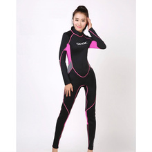 3mm Neoprene Wetsuit  Women's Wet Suits Diving Suit Pink Black size XS S M L XL XXL Suits for Surfing Diving Snorkelling Lady