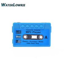 Waterlowrie Fashion Sport MP3  Tape model mp3 Music Player Support 8G TF Card Mini  MP 3 Player usb mp3 for Gift