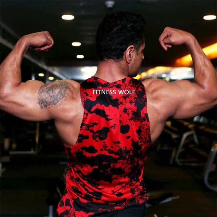 Uomo Gilet Da Uomo Camicia Attillata Da Fitness Camicie Acquista Top CoxeBrd