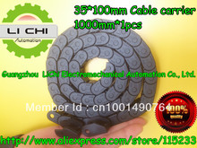 Best price Towline + Cable carrier + nylon Tuolian + Drag Chain + engineering towline + towline cable +35*100-1000mm