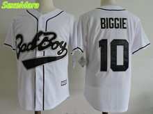 SexeMara Cheap Mens #10 BAD BOY Biggie Movie Baseball Jerseys,All Stitched Throwback Baseball Jersey Free Shipping