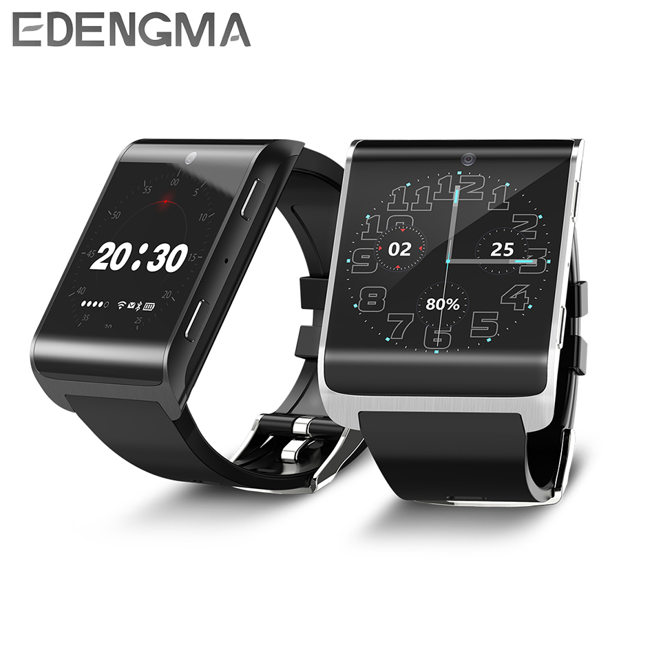 4G Smart Watch 1.54 inch IPS/ROM16GB+RAM1GB/WIFI/GPS/Pedometer/Heart Rate Monitor Bluetooth 4.0 Watch Phone DM2018 for Android