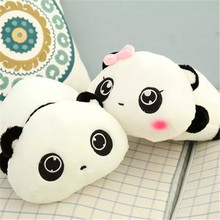 35CM One Piece Super Soft Lying Panda Plush Toys Chinese National Treasure Pandas PP Cotton Stuffed Doll Friends Present 2 Style