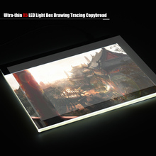 Best Portable A5 LED Light Pad Box Drawing Tablet Graphic Tablet Drawing Tracing Tracer Copy Board Table Pad Panel Copyboard