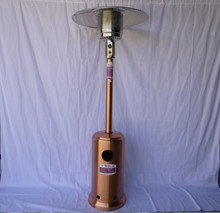 Copper color heater CA & CSA certificated gas heater, outdoor gas heater,patio heater(China)