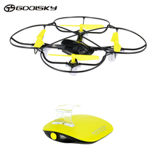 GoolSky 2.4GHz Remote Control One-key Motion Mini Smart RC Drone Gesture Control RC Quadcopter with 360 Flips Helicopter Toys