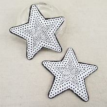 75*75mm star back with glue embroidery patch diy clothing patch applique blossom DIY Accessory Sewing Supplies,10Y51766