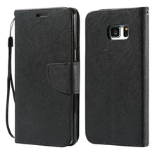 KISSCASE Classical Flip Leather Case for Samsung Galaxy S8 S8 Plus S7 S7 Edge S6 S6 Edge Plus S5 S4 S3 Note 2 3 4 5 Phone Case