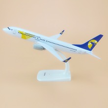 Alloy Metal Air MONGOLIAN Airlines B737 Airplane Model MONGOLIAN Boeing 737 Airways Plane Model Stand Aircraft Gifts 20cm(China)