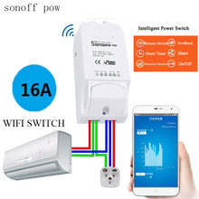 Itead Sonoff POW Wireless Intelligent automation module Switch WiFi Smart home automation Remote Power Consumption Measurement