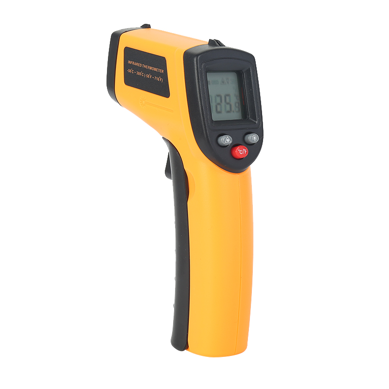 GM320 Digital Infrared IR Thermometer Non-contact Temperature Tester Meter IR Temperature Laser Gun Range -50~380 Degree Durable